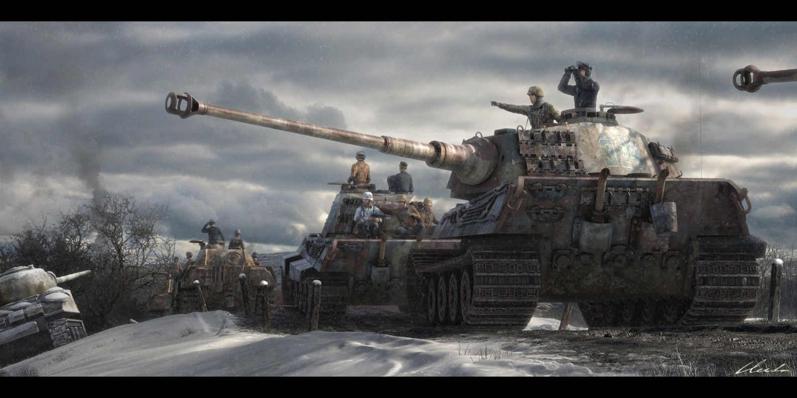 Tiger Tank Wallpapers Group 70 1600x800