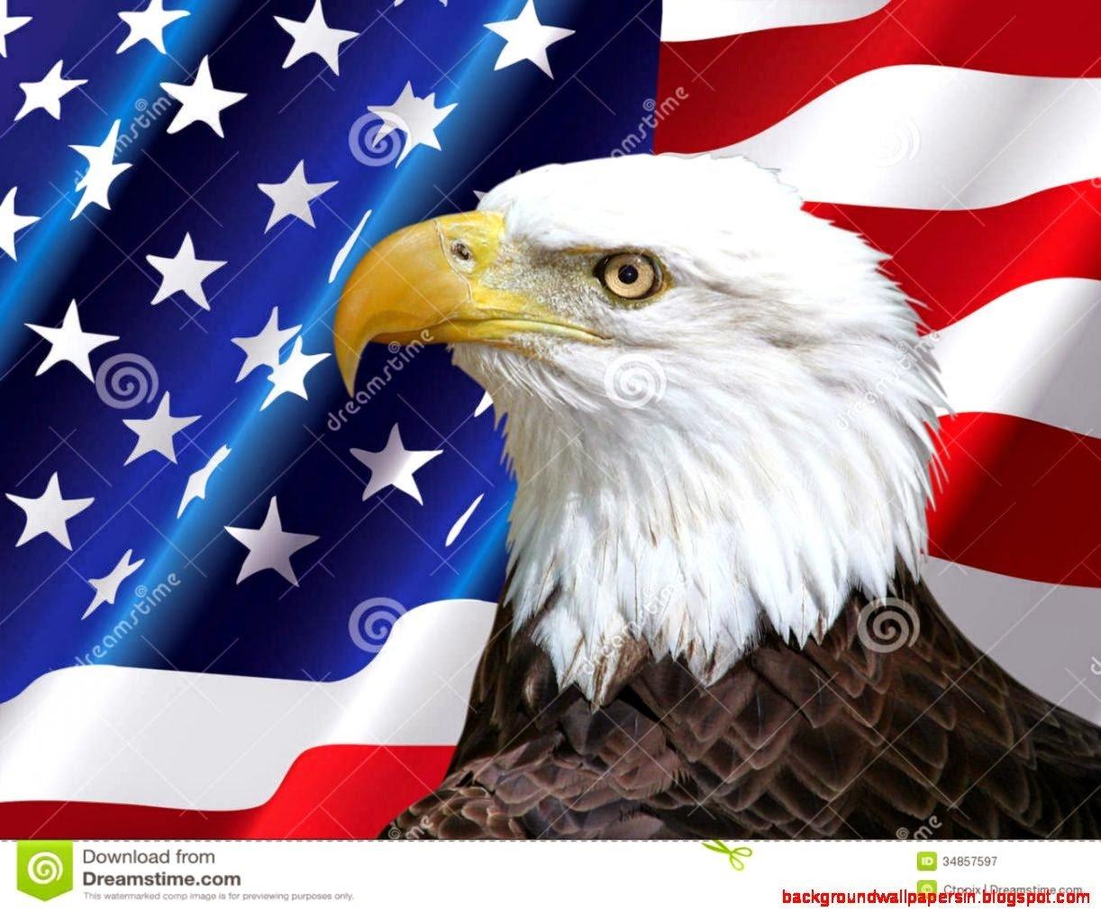 Bald Eagle American Flag Wallpaper Wallpapersafari