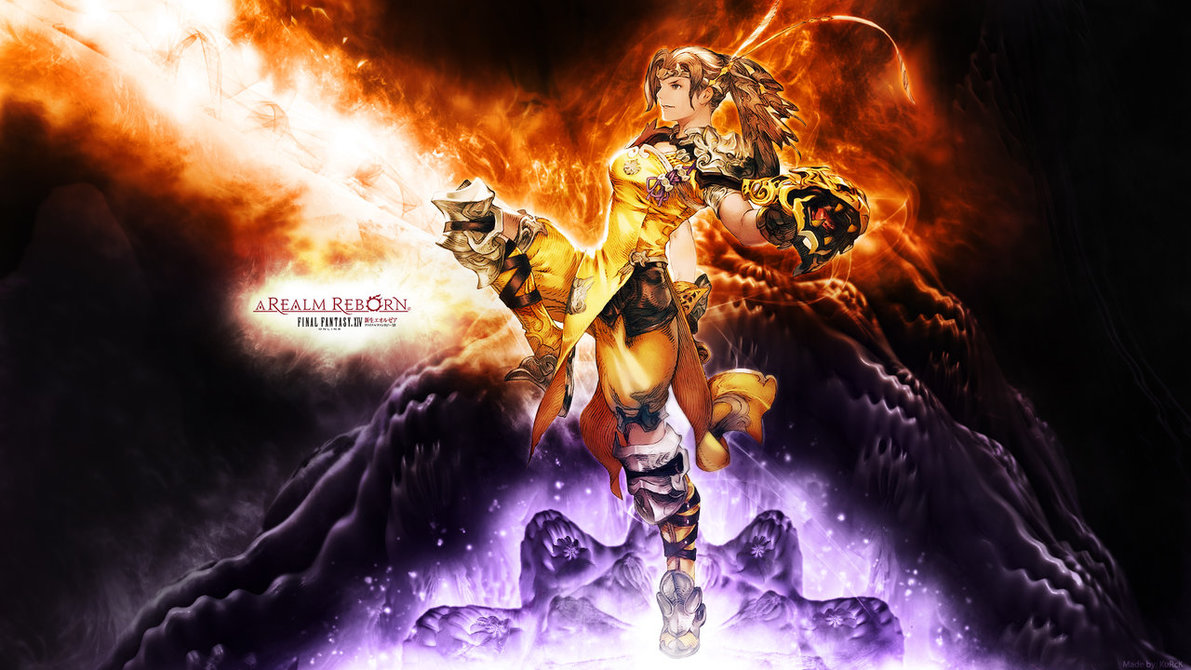 Free Download Ffxiv Primals Wallpaper Final Fantasy Xiv Arr Monk