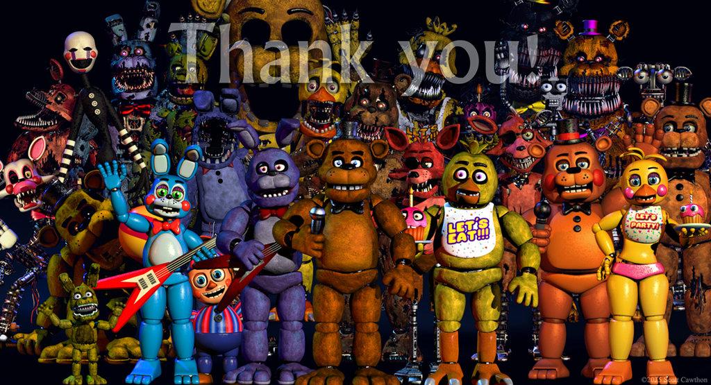 FNAF 4 Thankyou WALLPAPER by brandonashalintubbi 1024x555