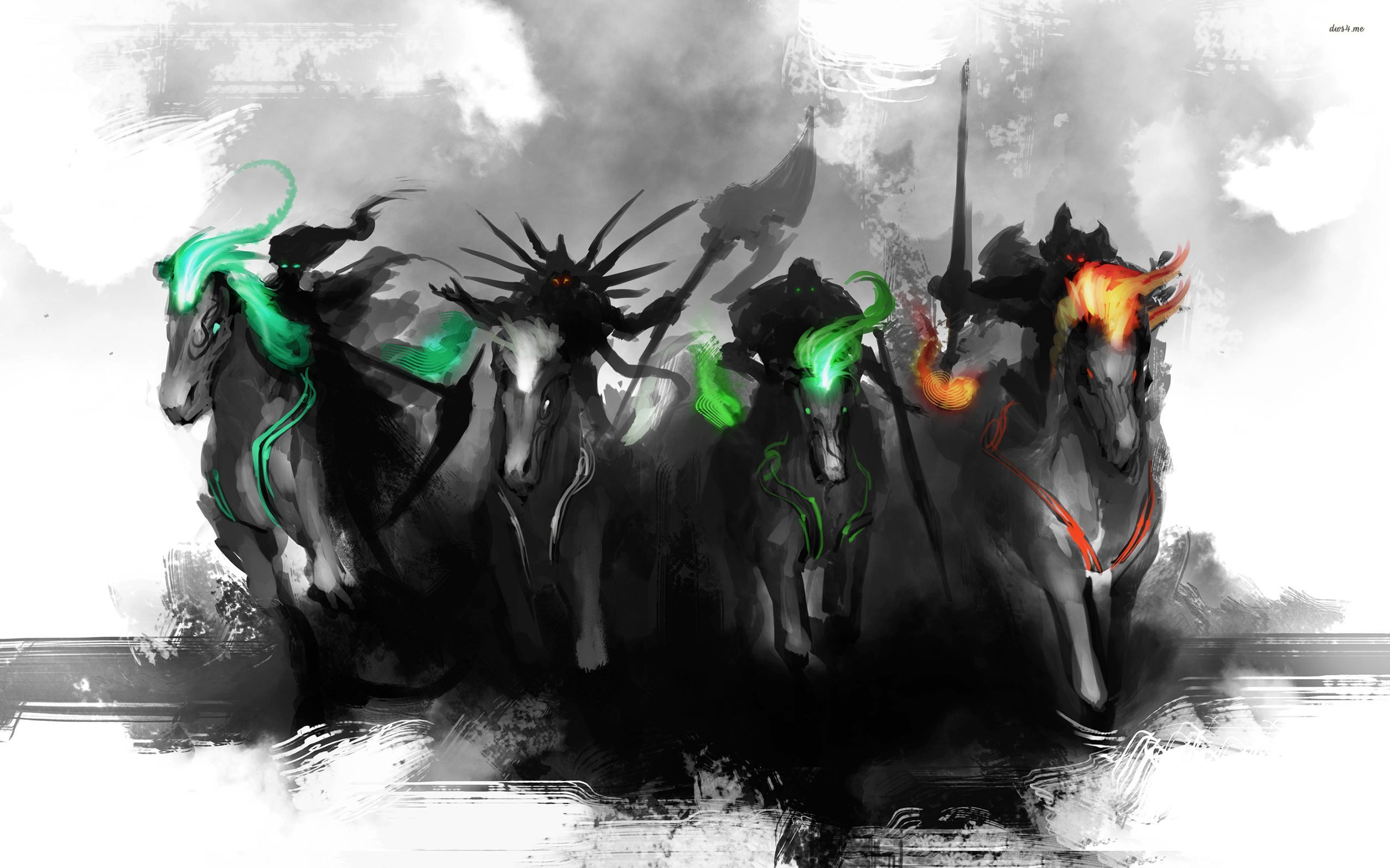 The Four Horsemen wallpaper   Fantasy wallpapers   22665 2560x1600