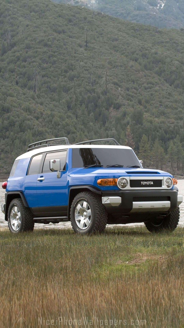 Toyota FJ Cruiser iPhone 66 plus wallpaper and background 750x1334