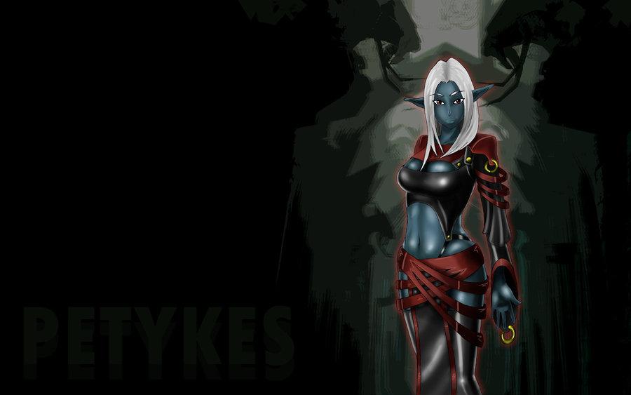 Dark elf wallpaper by Petykes on deviantART 900x563