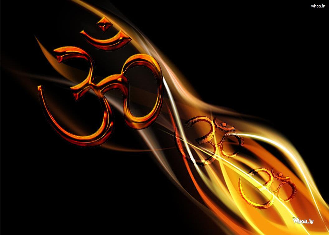 Free Download 3d Light Om Symbol Wallpapers Hd Wallpaper