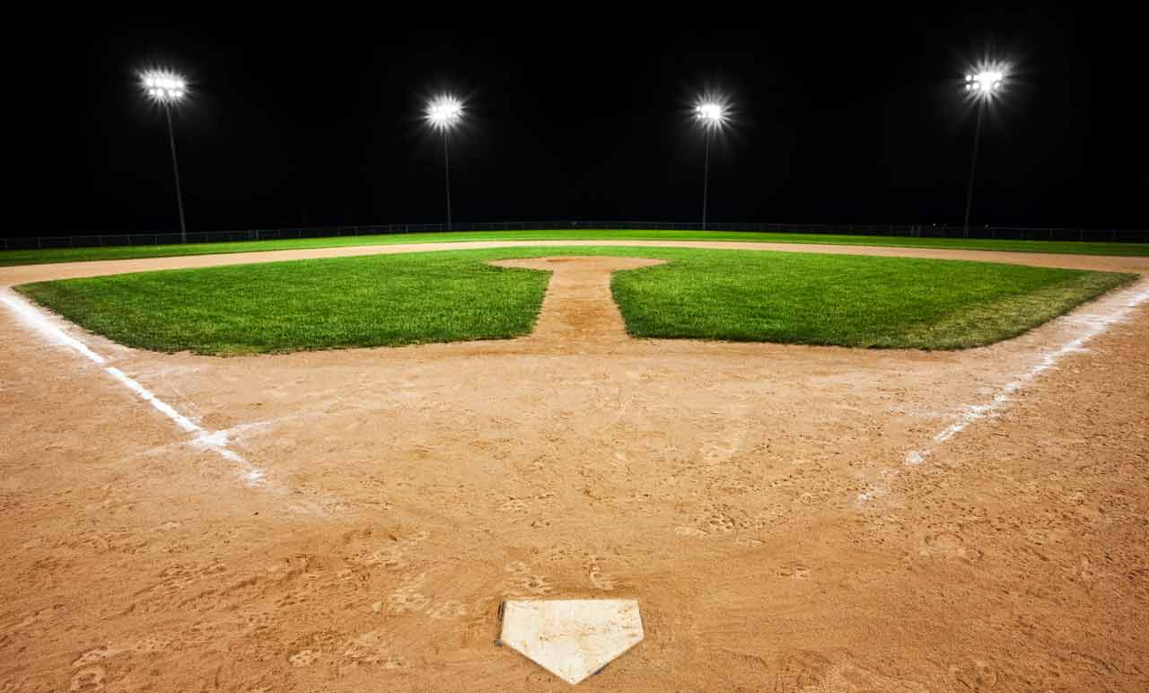 Baseball Wallpaper Baseball Field Background At Night Hd 1280x772