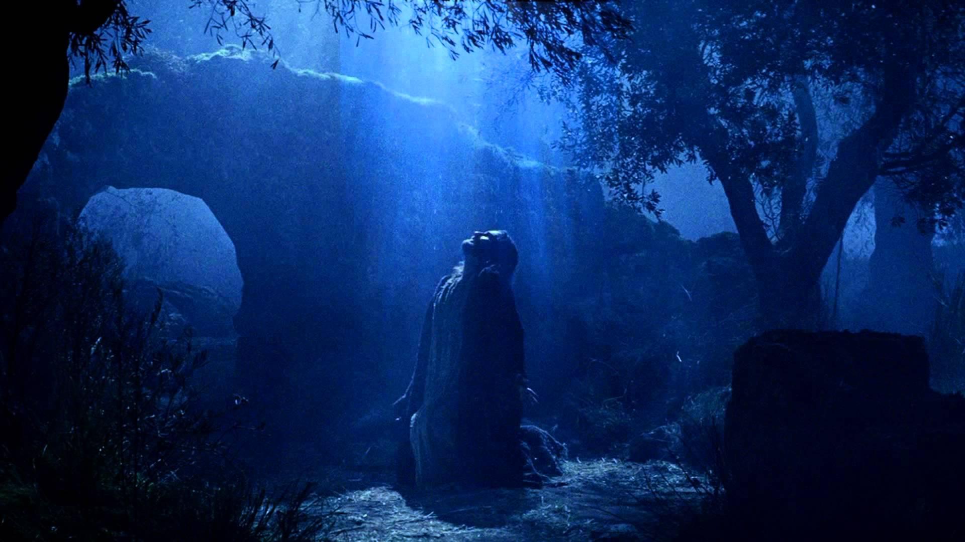 Jesus Gethsemane Prayer  worship motion background video 1080p HD 1920x1080