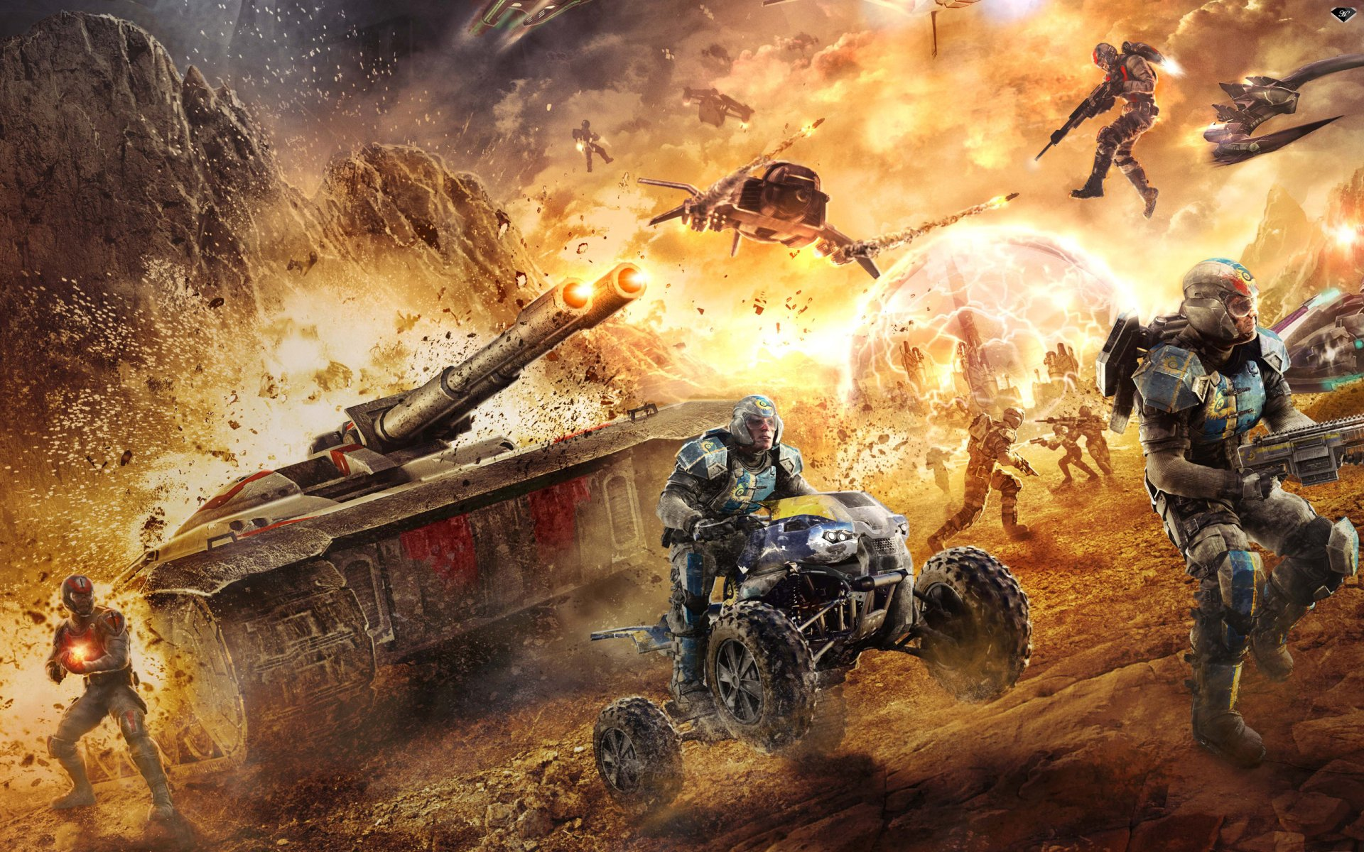 33 Planetside 2 HD Wallpapers Background Images 1920x1200