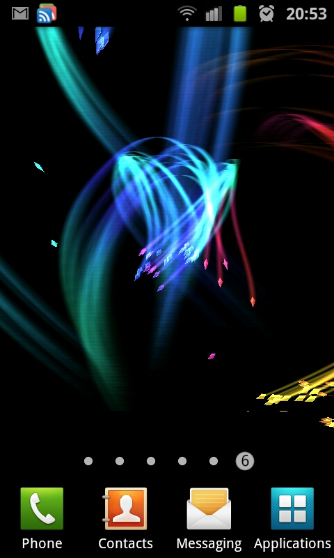 The next one I have is 3D FireFlies   this one also looks great Here 480x800