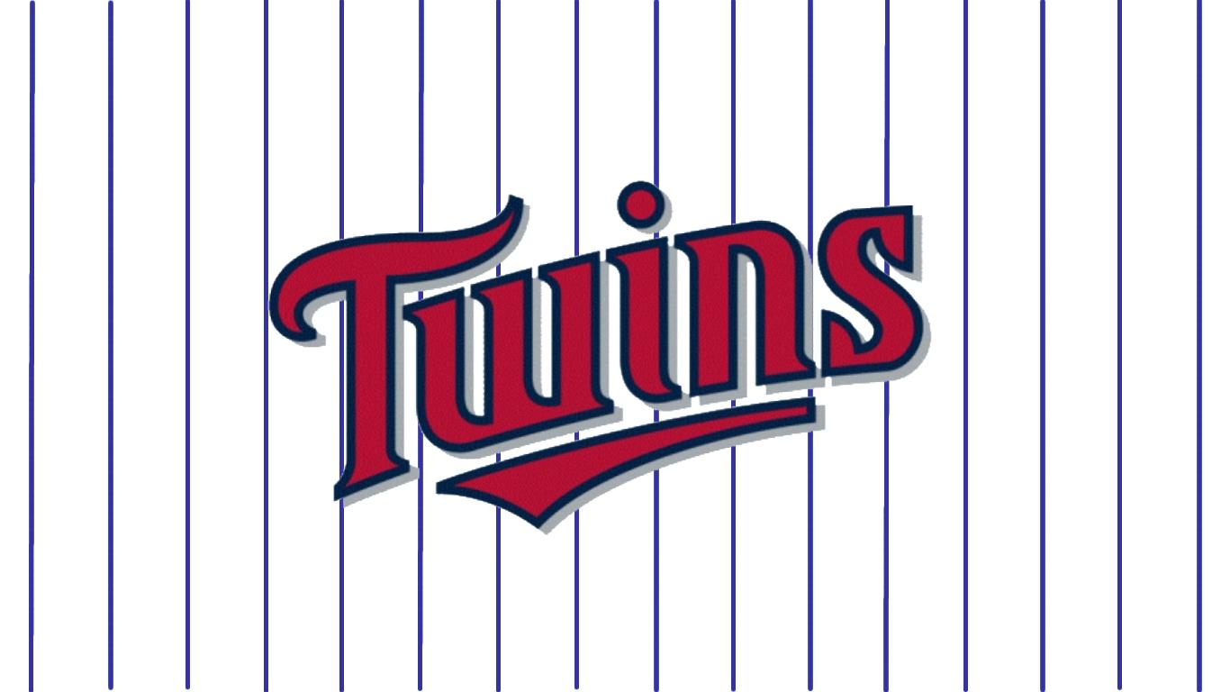 Vintage minnesota twins logo