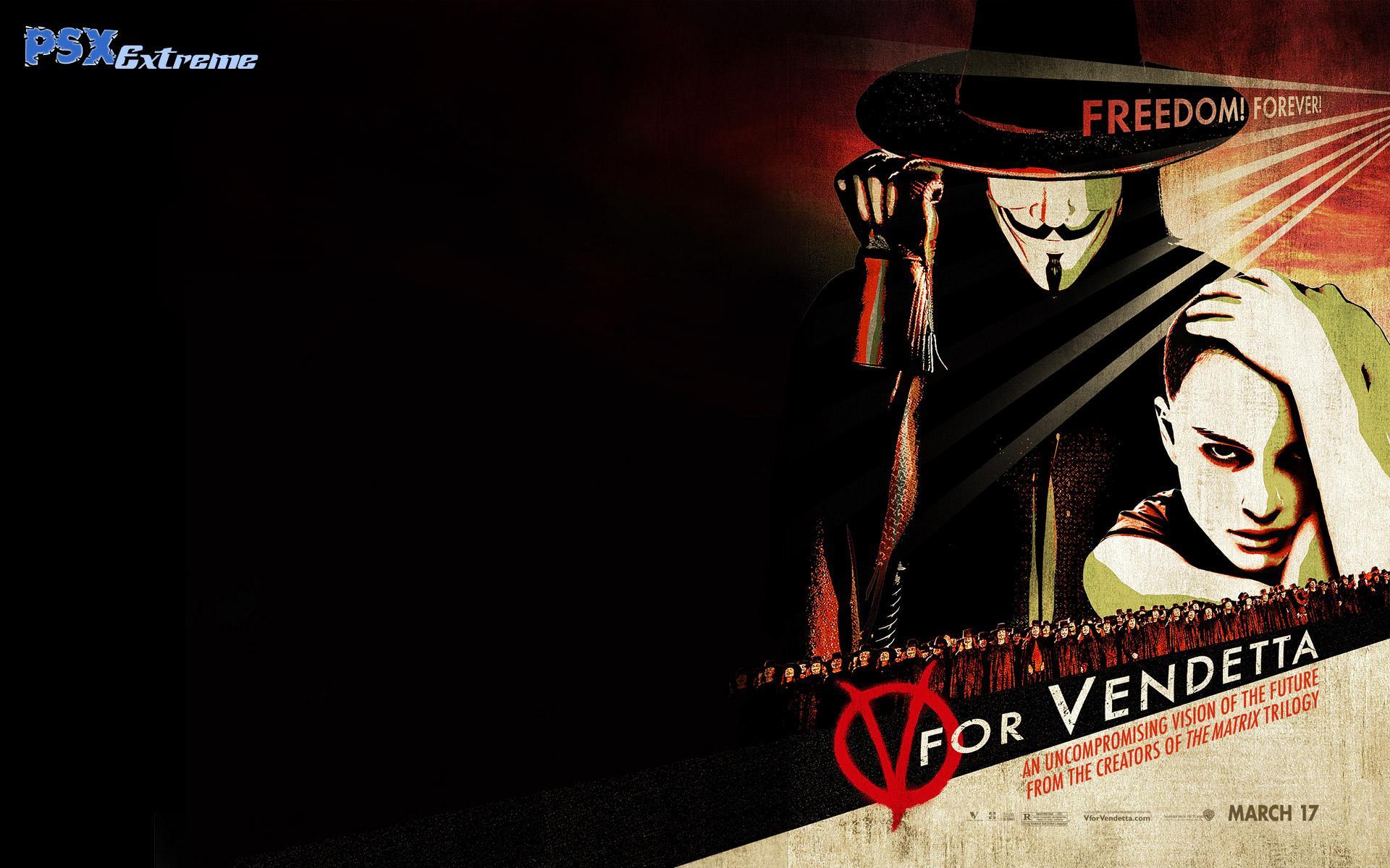 V For Vendetta Wallpaper 1920x1200