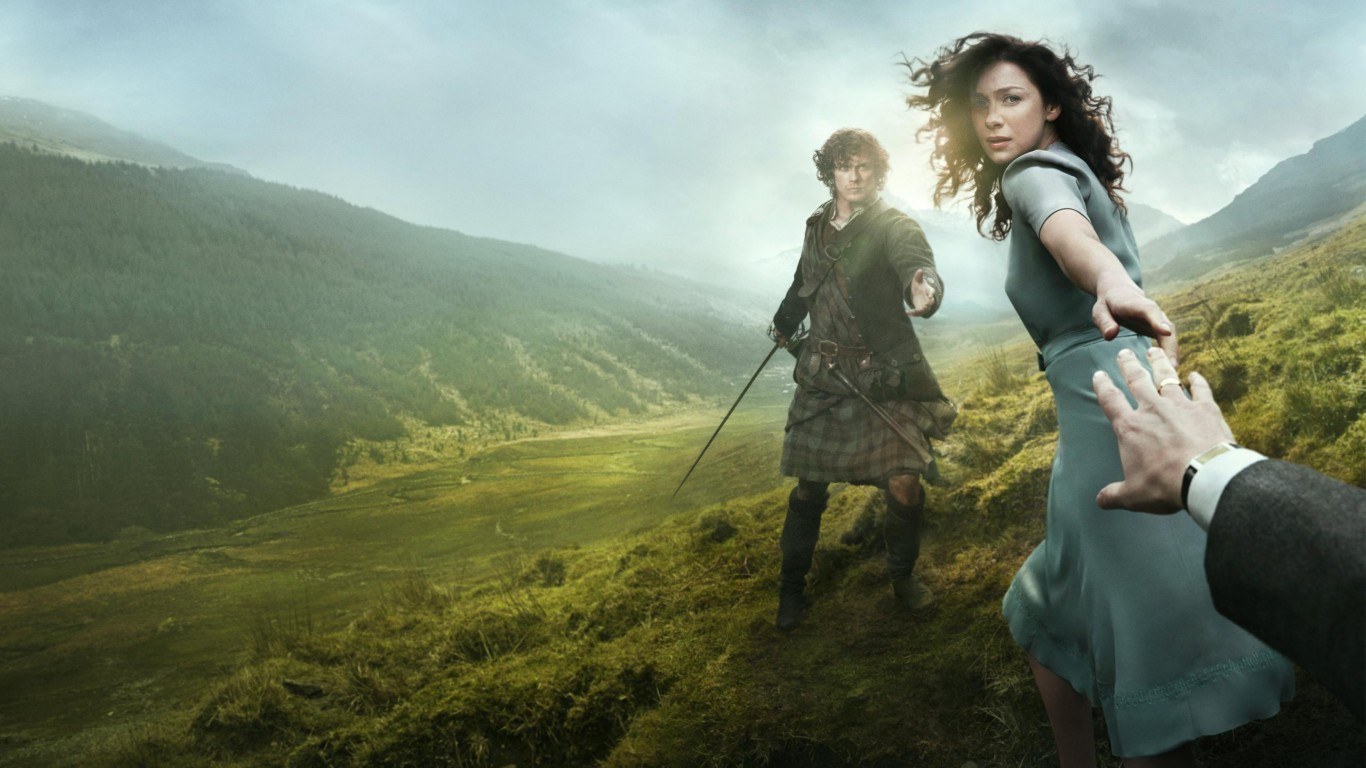 Outlander Television Series 2014 HD Wallpaper   StylishHDWallpapers 1366x768