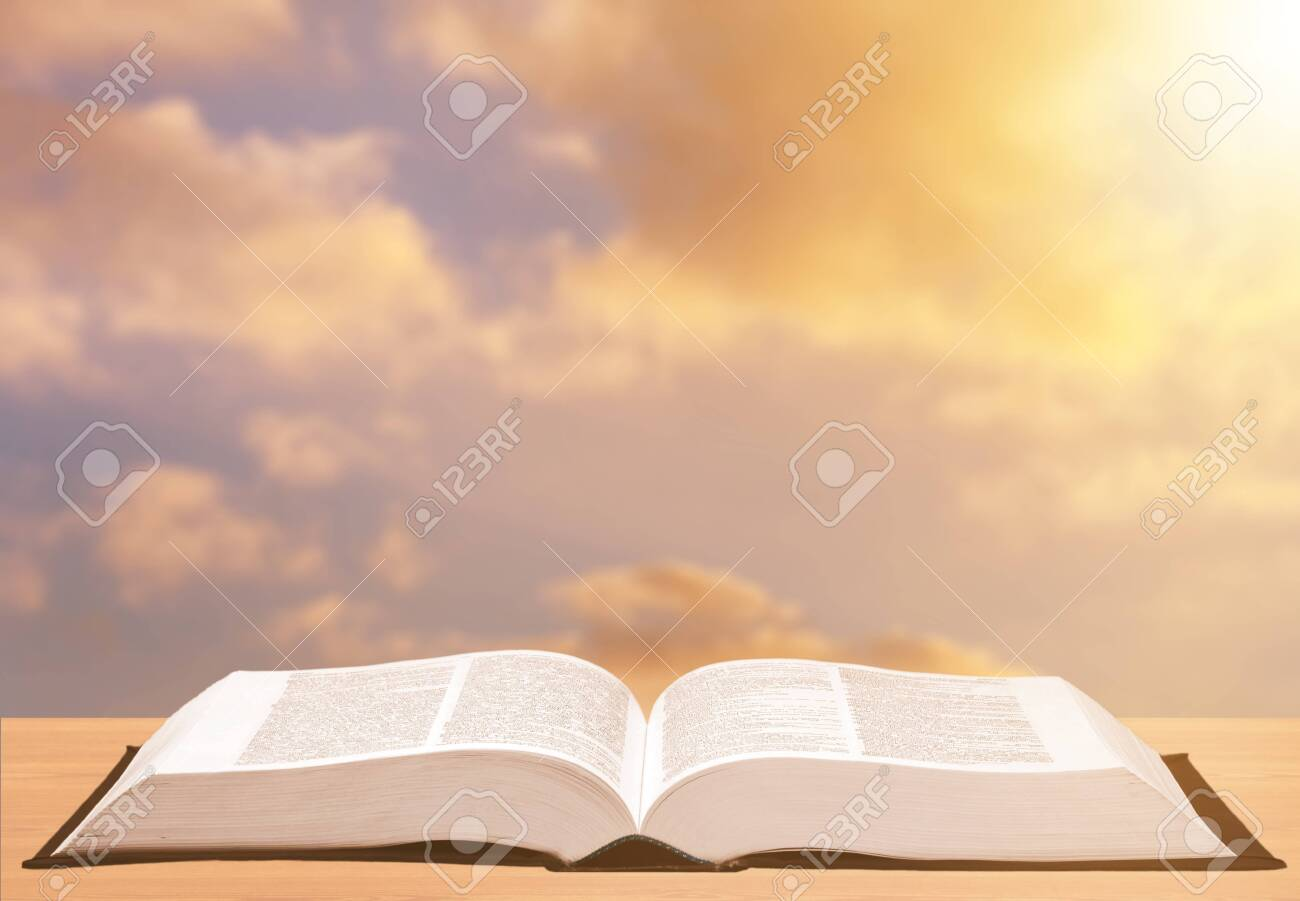 Holy Bible Book On Background Stock Photo Picture And Royalty 1300x901