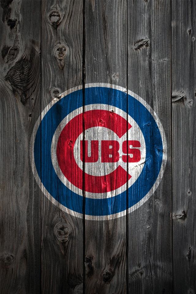 Wallpaper Background MLB WALLPAPERS Pinterest Cubs Chicago Cubs 640x960
