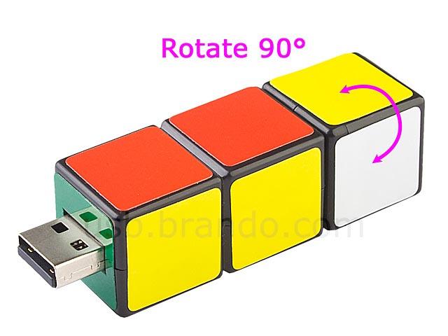 Mini Rubix Cube USB Flash Drive Gadgetsin   Downloadable 640x480