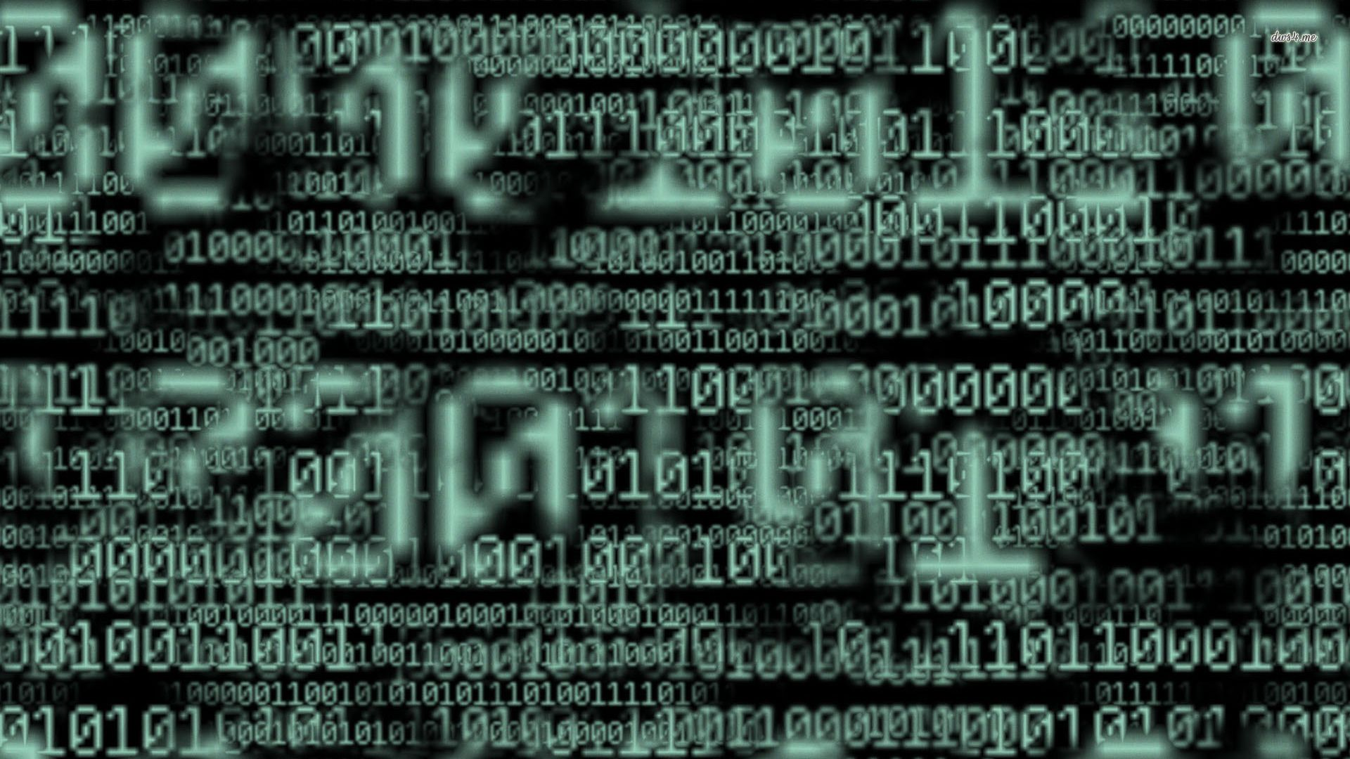 Wallpapers For Binary Code Wallpaper Hd 1920x1080