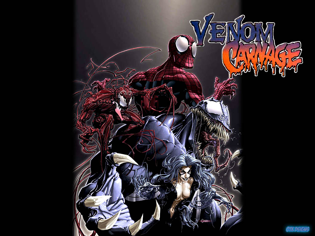 venom vs carnage wallpaper Quotes 1024x768
