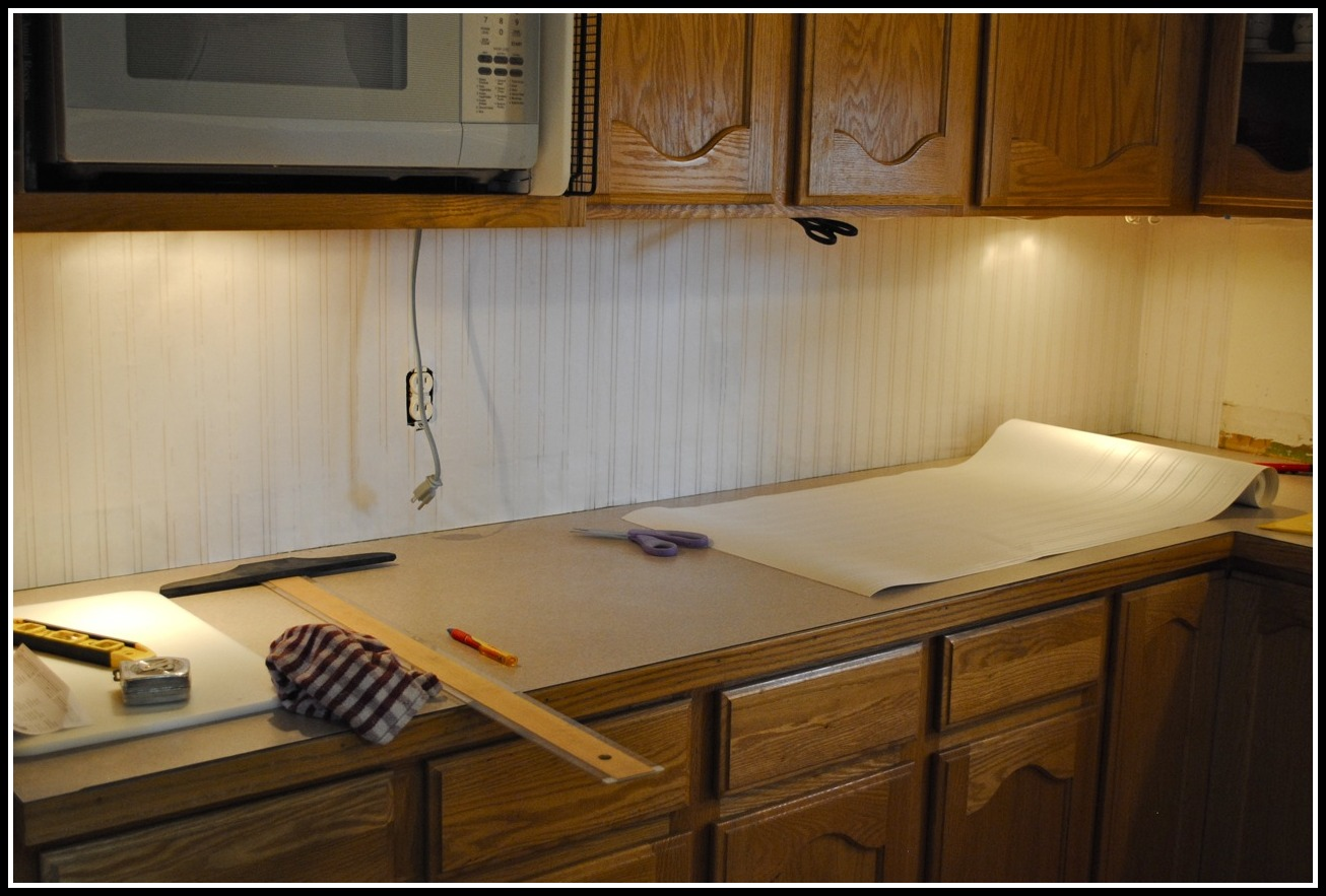 Beadboard Wallpaper Back Splash The Little Brown House 1306x883
