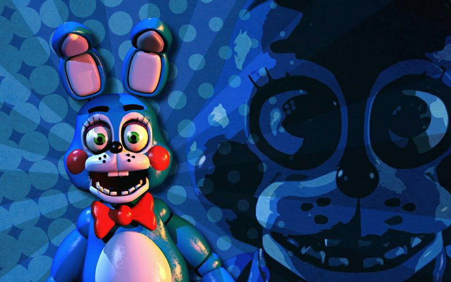 Toy Bonnie WallpaperFive Nights at Freddys 2 by jetiopia on 900x563
