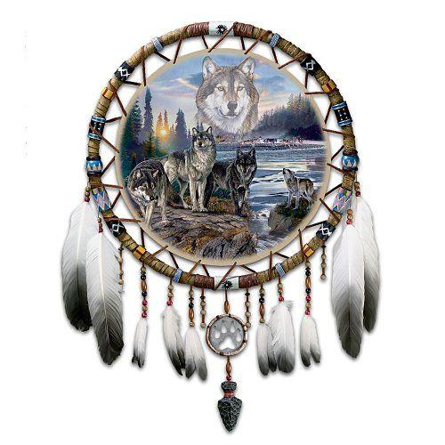 dreamcatcher native wolf spirit wallpaper - photo #32