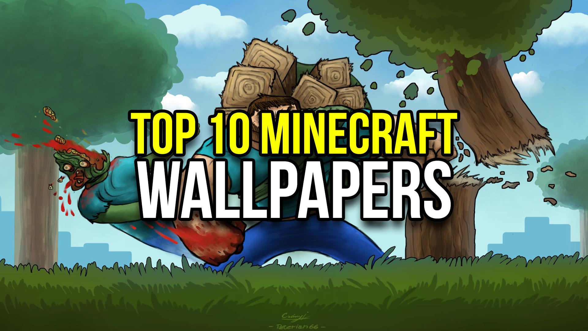 Top 10 Minecraft Wallpapers   MinecraftRocket 1920x1080