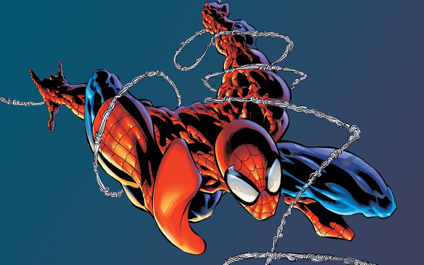 Comics Spider man Wallpaper 1680x1050 Comics Spiderman Superheroes 1680x1050
