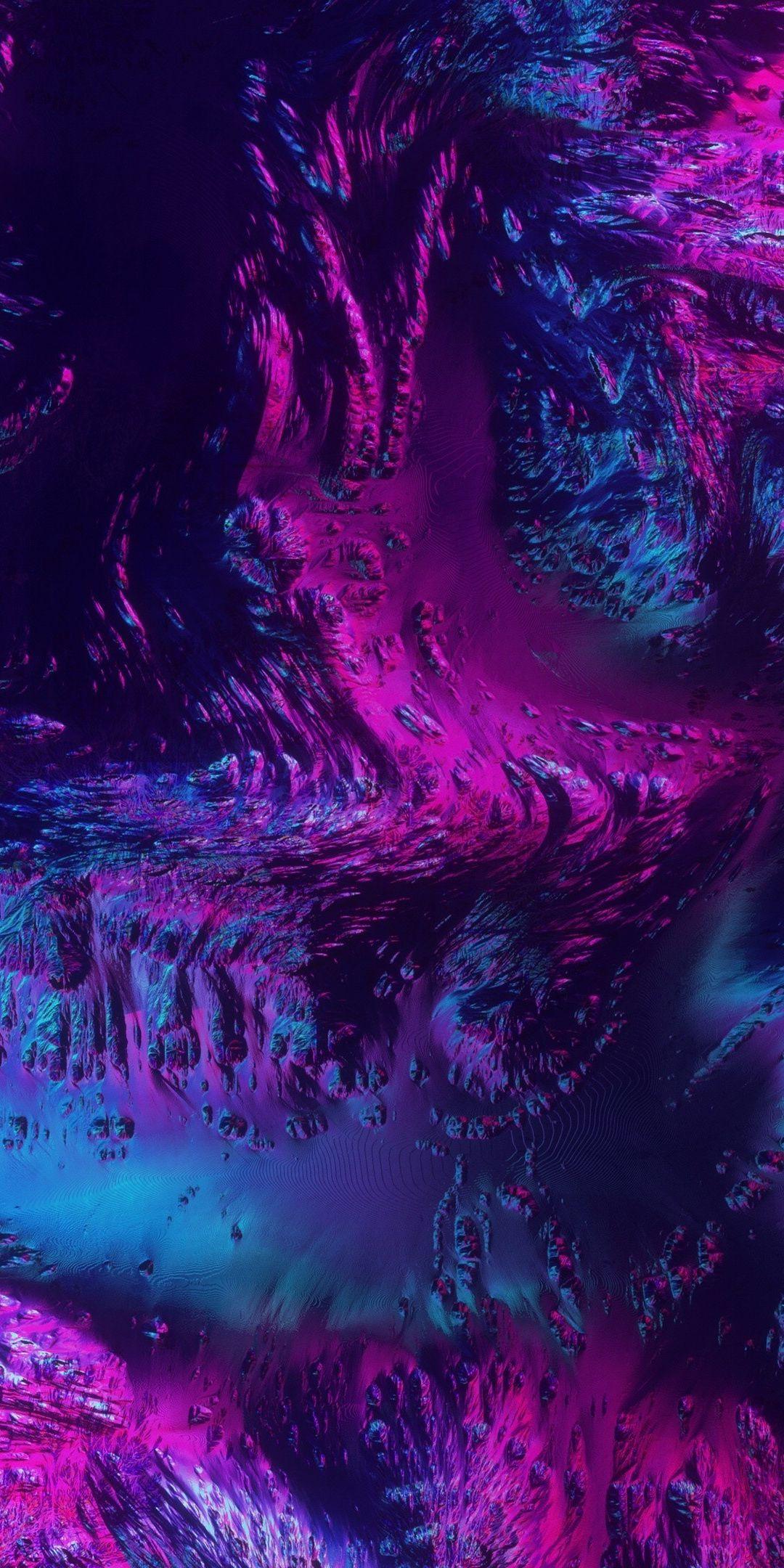 Neon texture abstract dark art 1080x2160 wallpaper in 2020 1080x2160