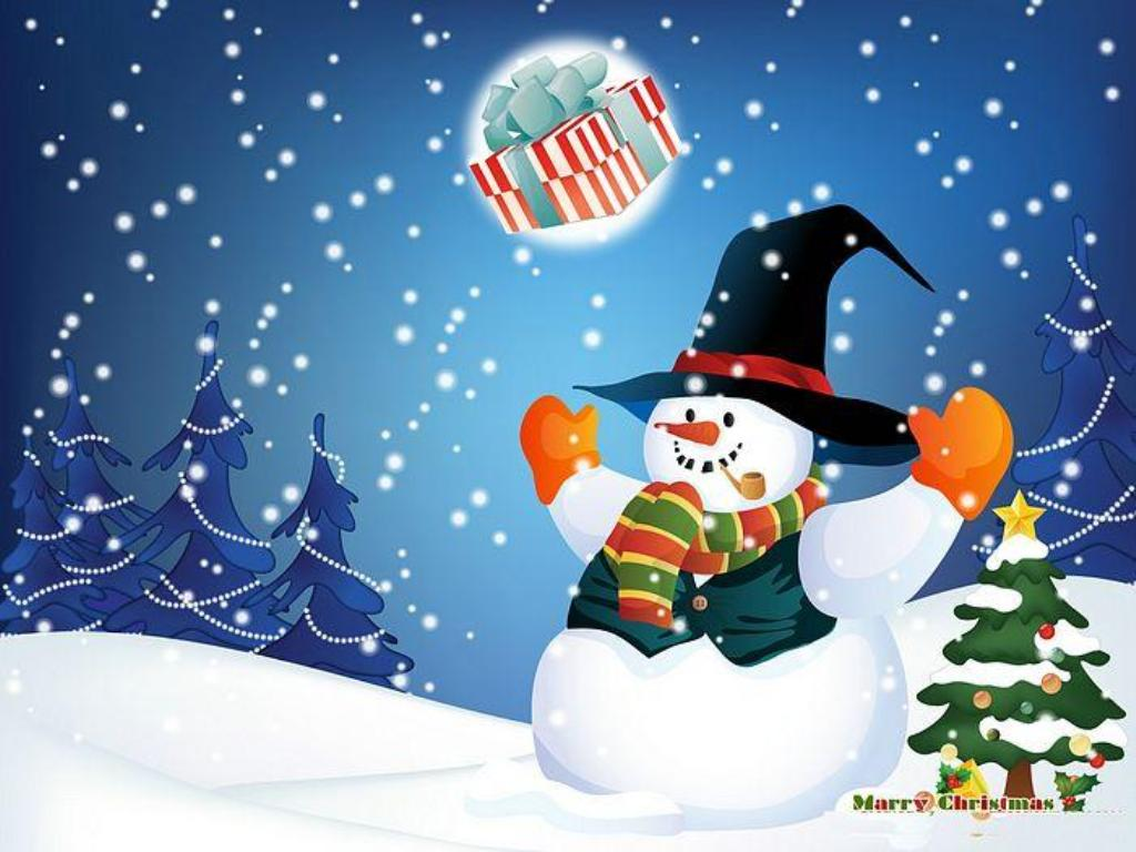 Christmas Wallpapers Animated Hd Wallpapers Download 1024x768