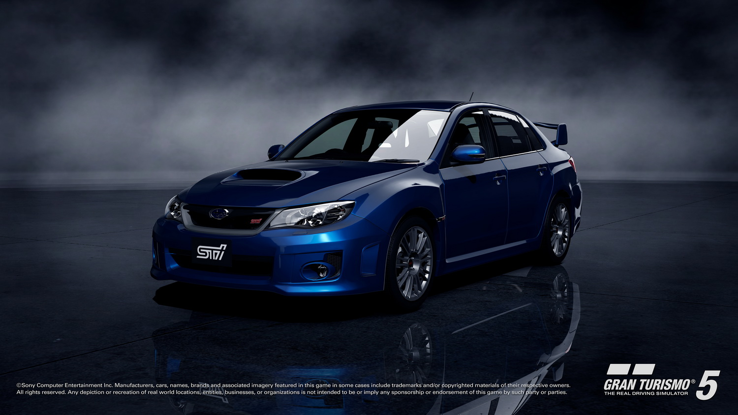 New Subaru Impreza WRX STI four door sedan will debut in Gran Turismo 1500x844