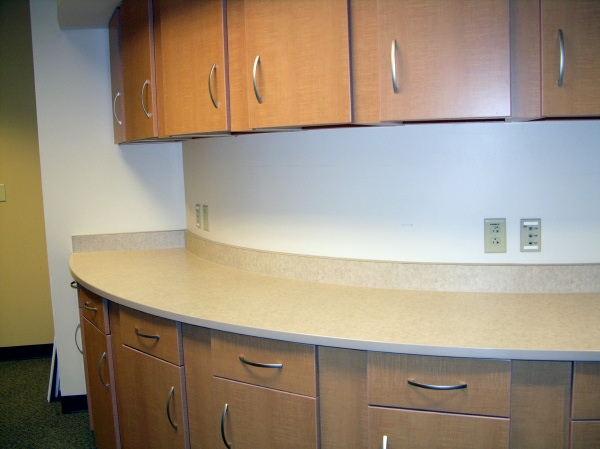 Laminate Cabinets Or Furniture With General Finishes Java Gel Stain 600x449