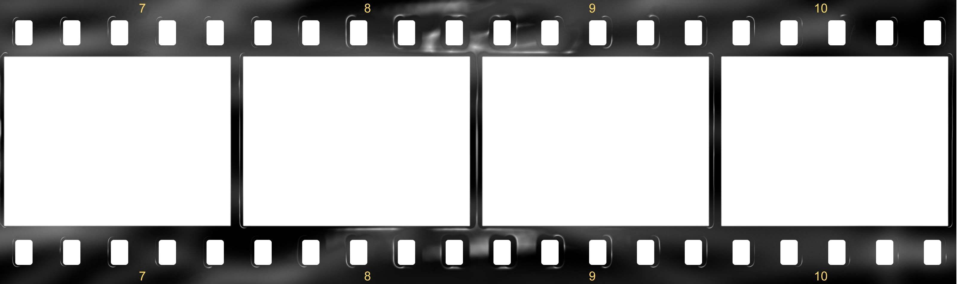Film Strip Template 3222x952