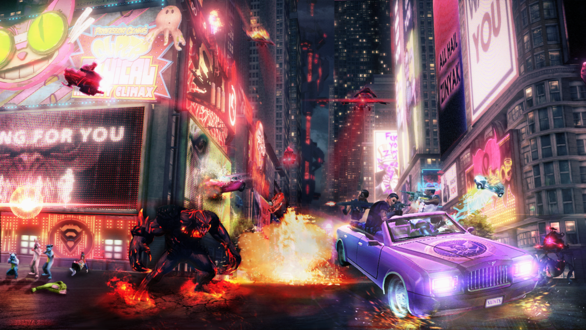 Free Download Saints Row 4 Wallpaper By Redliya 1191x670