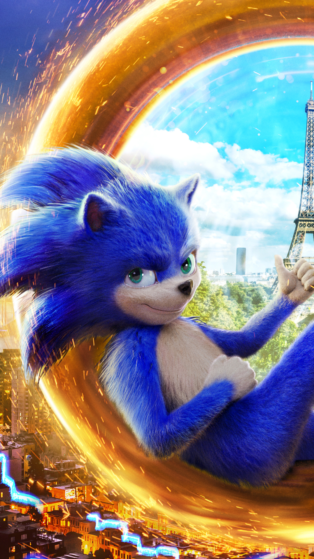 Free Download Moviesonic The Hedgehog 2020 1080x1920 Wallpaper Id