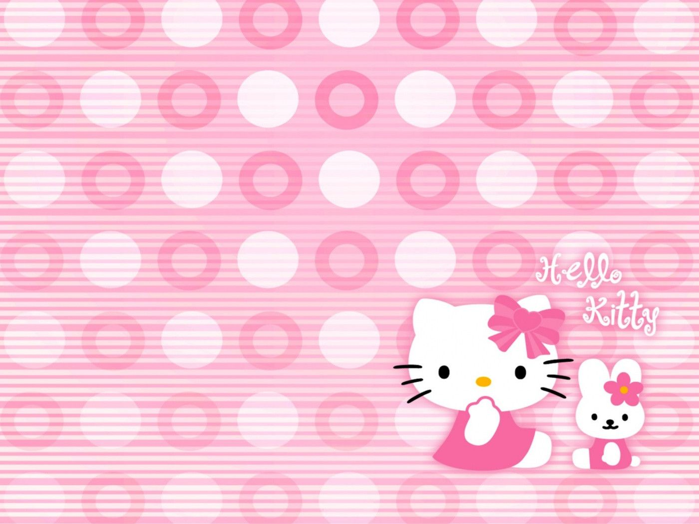 Free 45 New Hello Kitty Wallpapers Hello Kitty