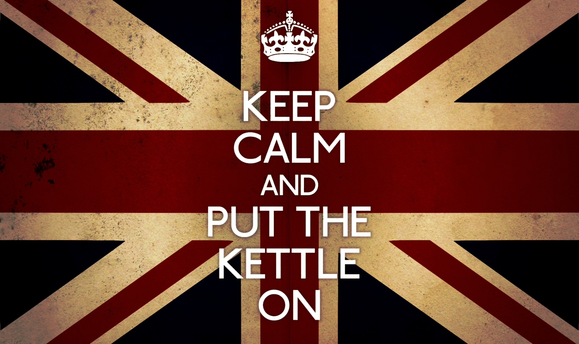 Keep Calm and Put The Kettle On HD Wallpaper is a hi res Wallpaper 1958x1162