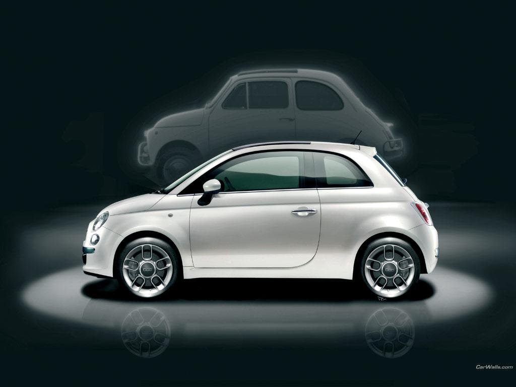 Cars Wallpapers Fiat 500 PicGifscom 1024x768