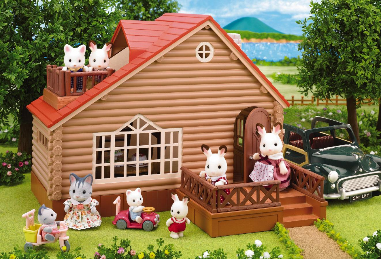 calico critters country tree house calico critters lakeside lodge set 1322x900