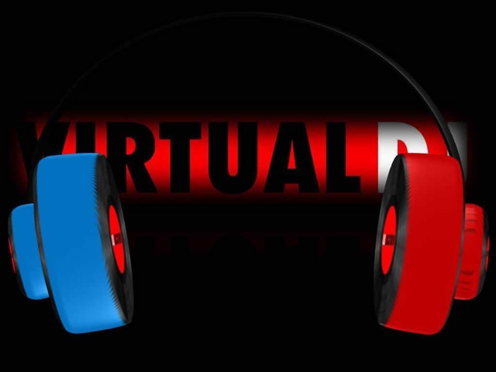 fone virtual dj papel de parede sobre fone virtual dj 1024x768