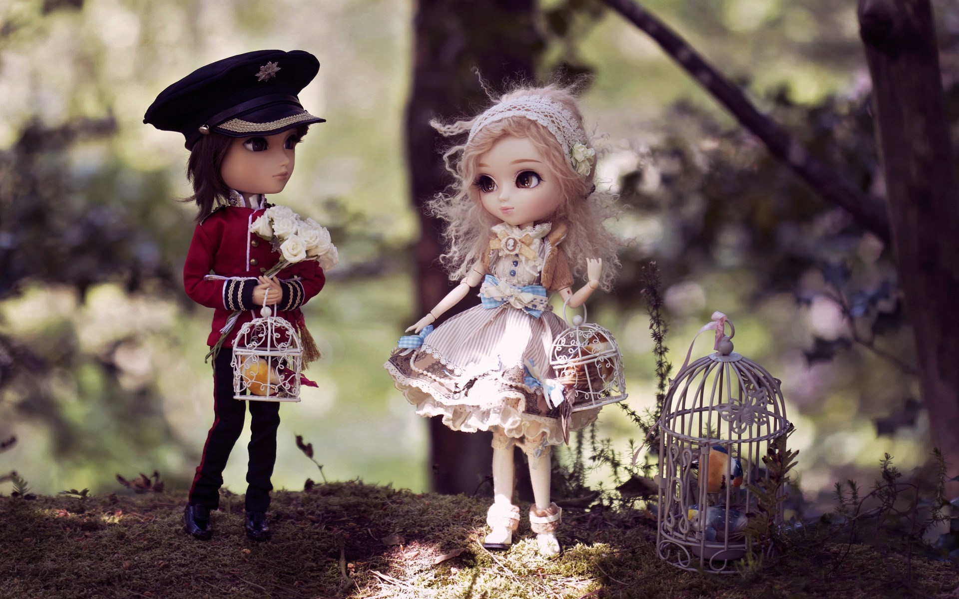 Hd Wallpaper Emo Love couple : Dolls HD Wallpapers - WallpaperSafari