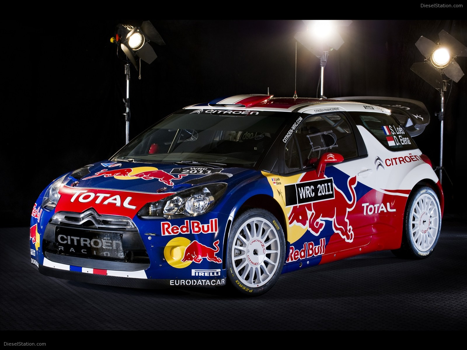 Citroen DS3 WRC 2011 Exotic Car Wallpaper 03 of 47 Diesel Station 1600x1200