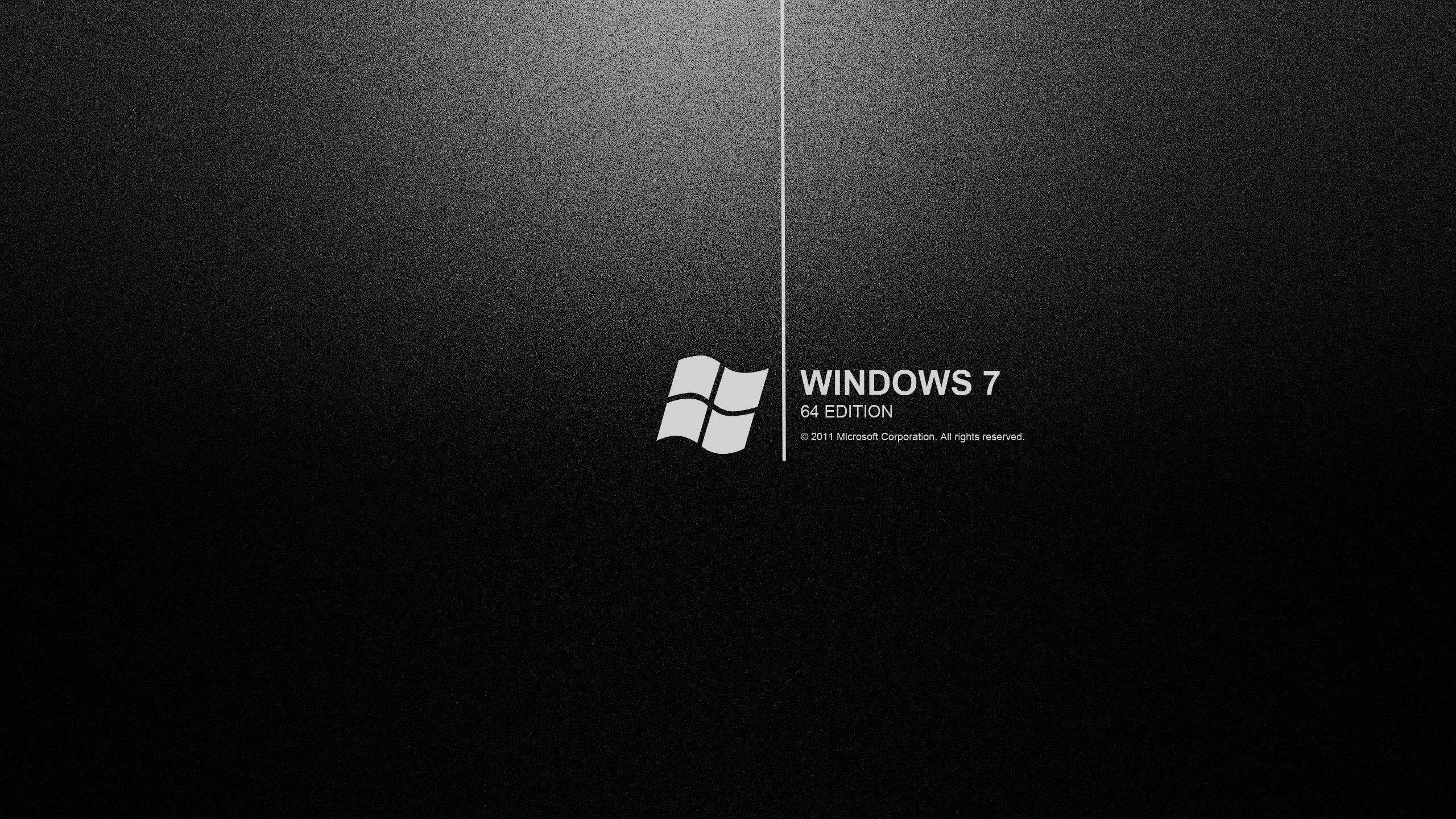 comwindows 7 black wallpapers backgrounds dark hd desktop wallpapers 2560x1440