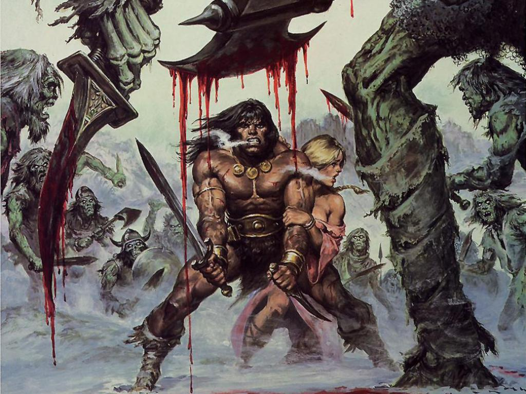 Conan The Barbarian 3D Wallpapers Movie Download 1024x768
