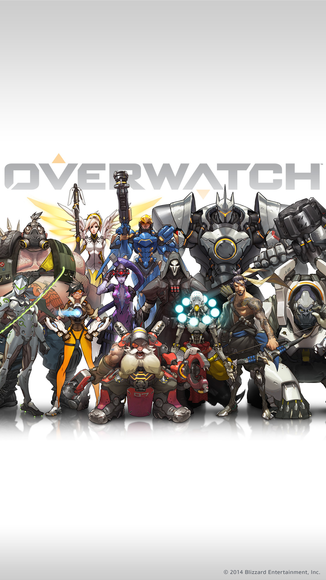 Overwatch Mobile Wallpaper Wallpapersafari