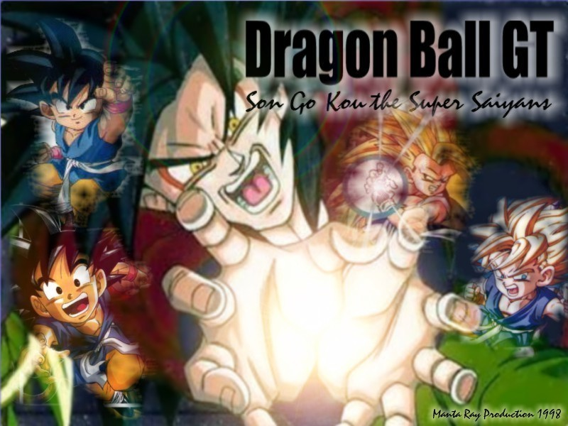 DRAGON BALL GT   Dragonball GT Wallpaper 1365011 800x600
