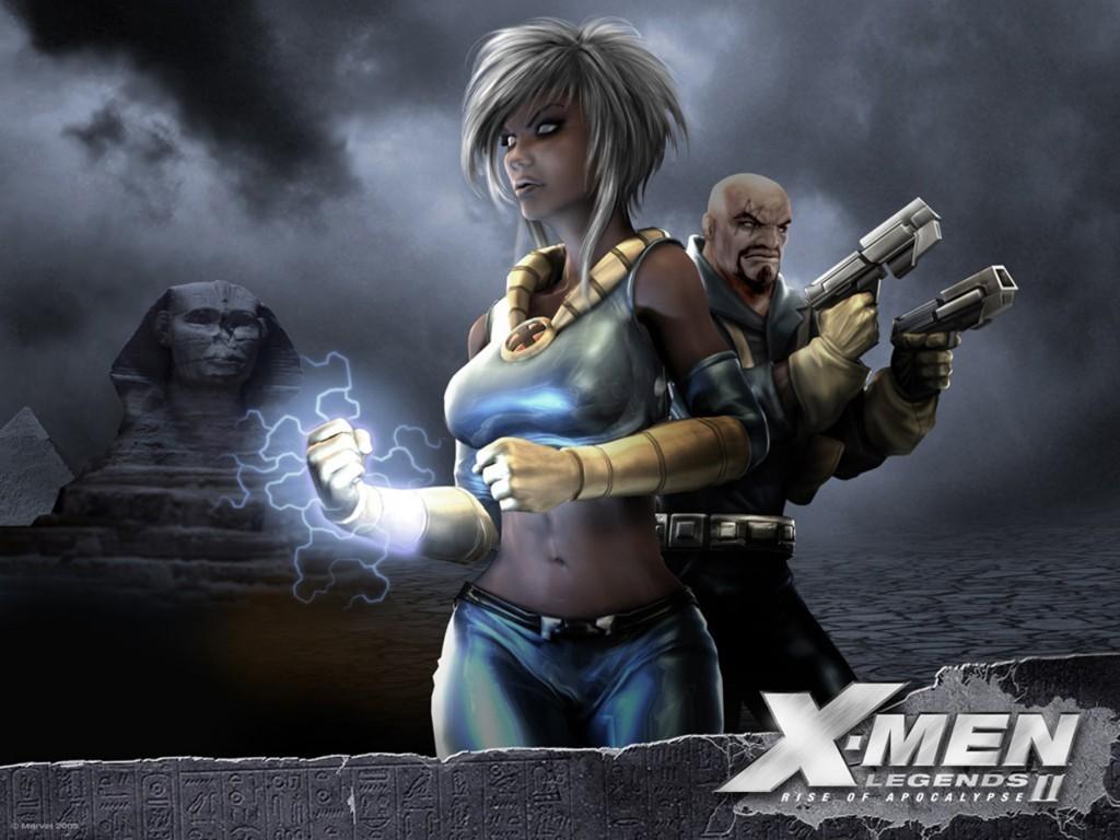Storm and Bishop   X Men Wallpaper 23164055 1024x768