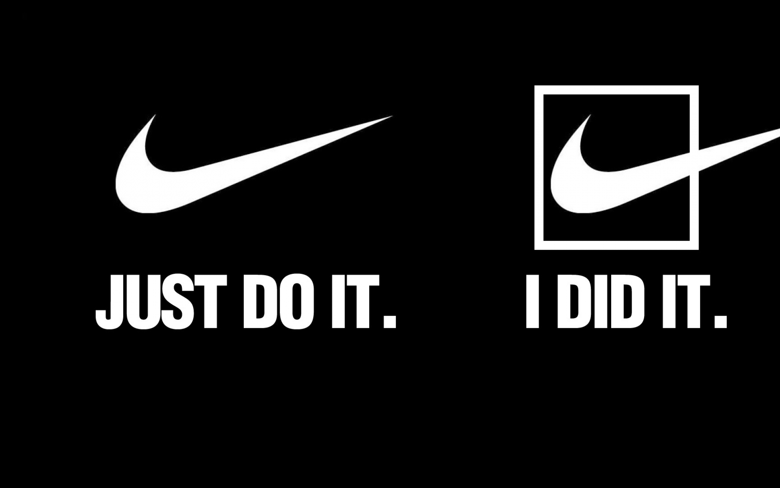 Download Wallpapers Download 2560x1600 quotes nike slogan brands 2560x1600