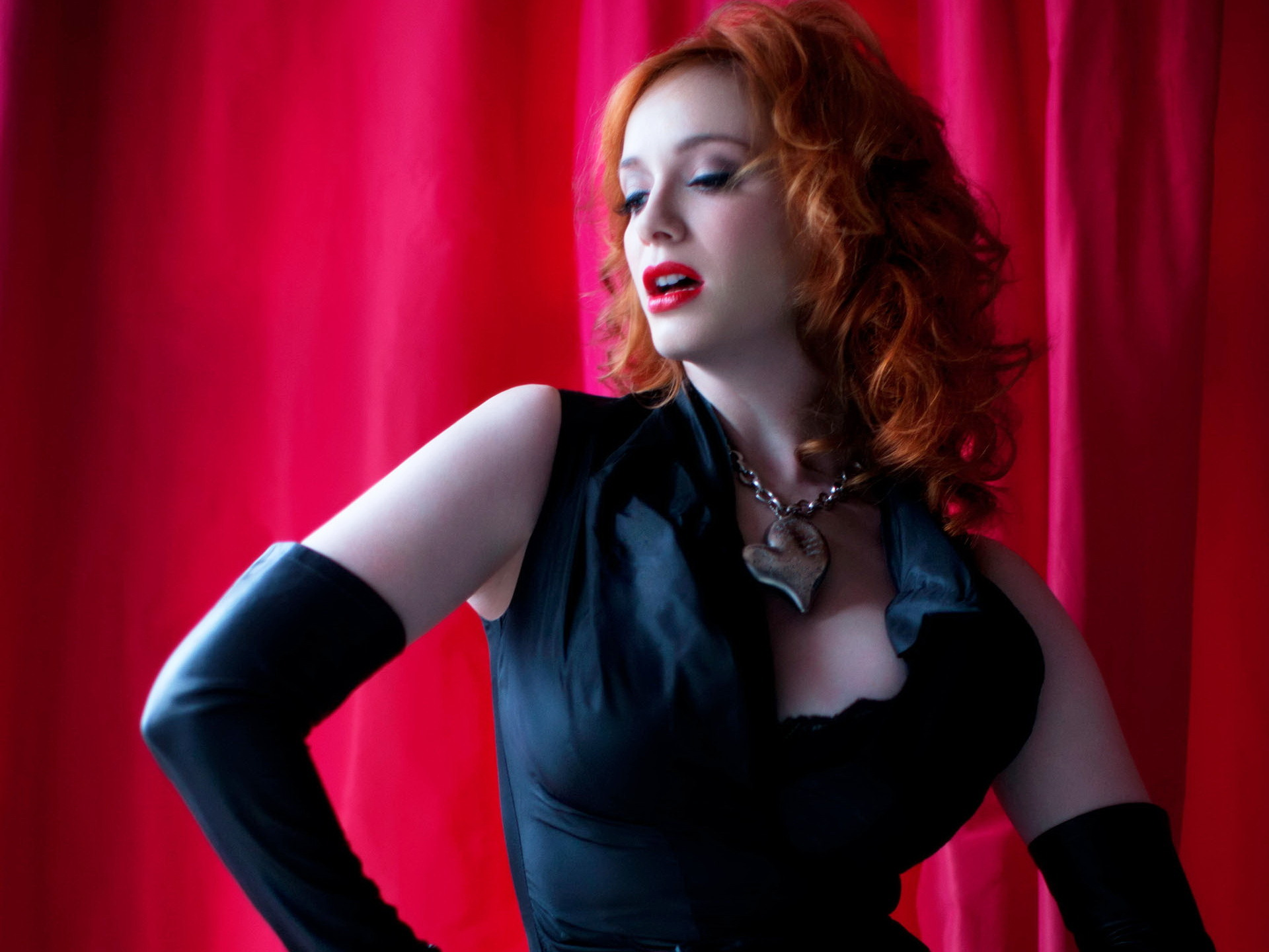Christina Hendricks Best HD Wallpapers Celebrities Hot Wallpapers 1920x1440