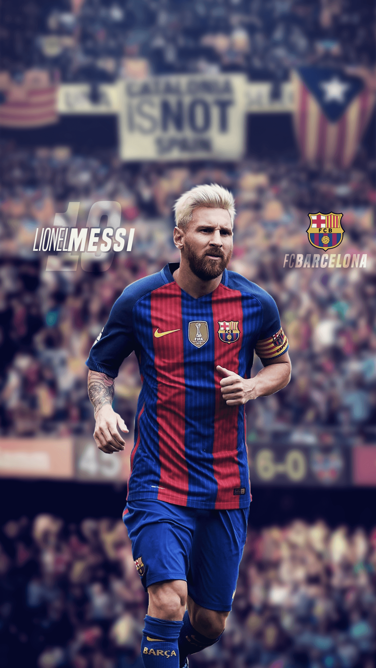 Lionel Messi 2017 Wallpapers 1242x2208