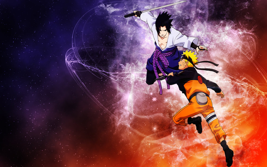 Naruto and Sasuke HD Wallpaper Naruto Wallpaper 1920x 1131x707