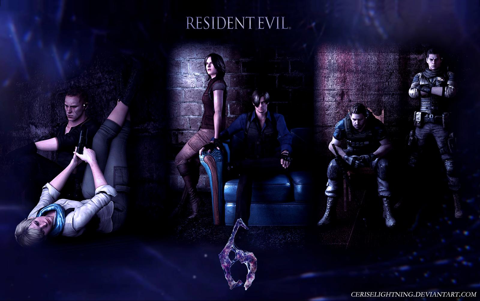 Resident Evil 6 Wallpaper by ceriselightning 1600x1004