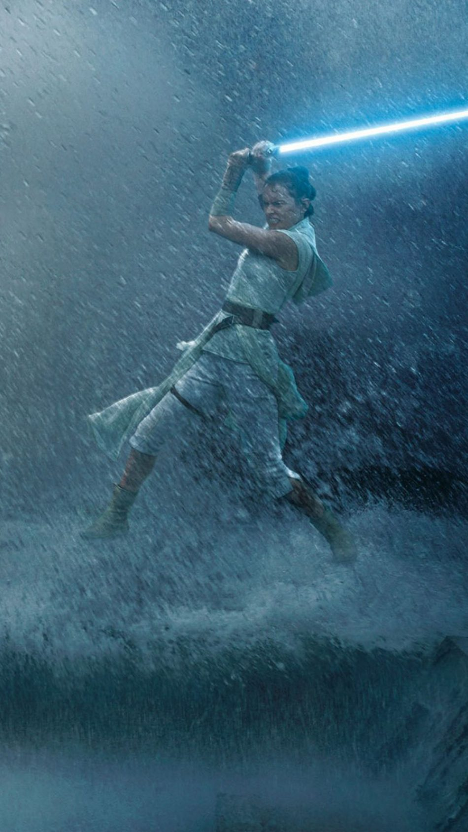 Download Daisy Ridley Fight In Star Wars The Rise of Skywalker 950x1689